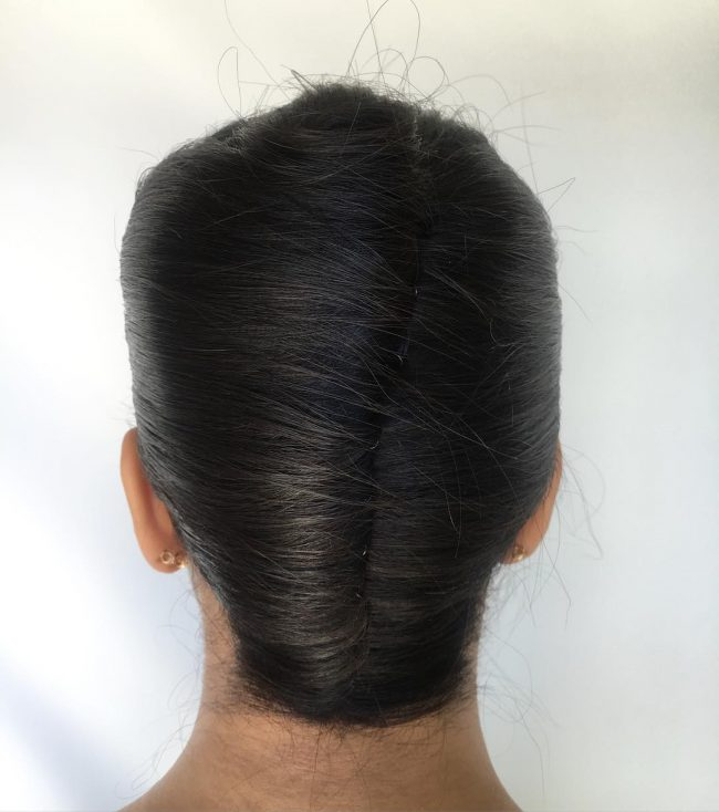 Stylish Double French Twist