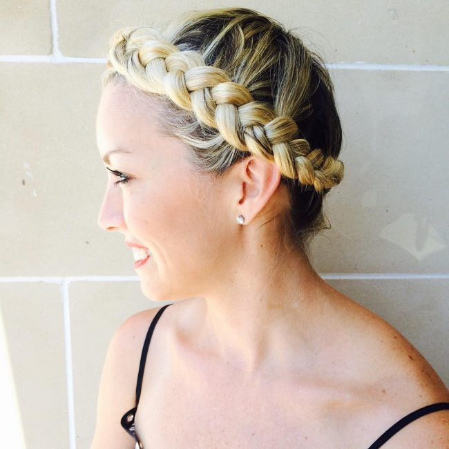 Super Cute Halo Braid