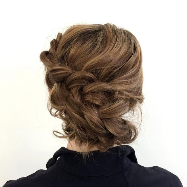 Textured Big and Messy Braid