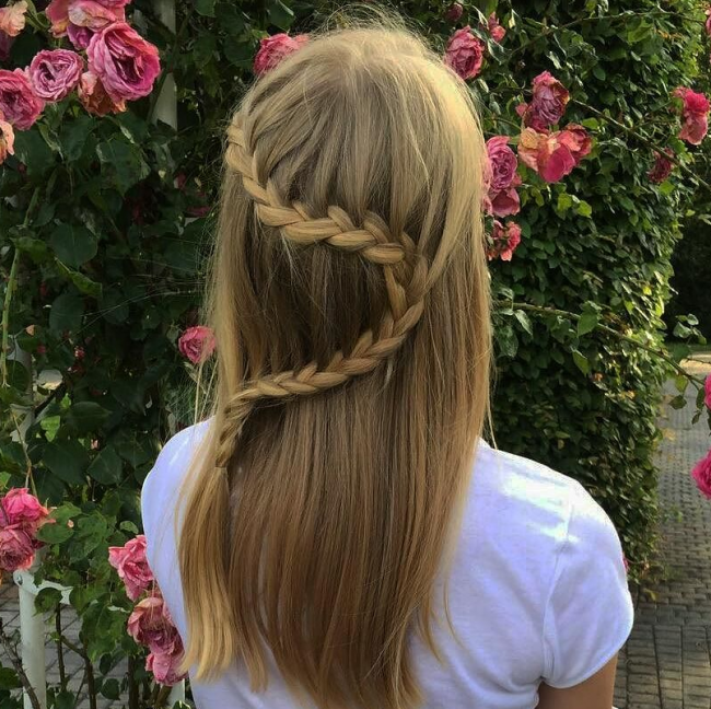 Three Strand Harp Braid