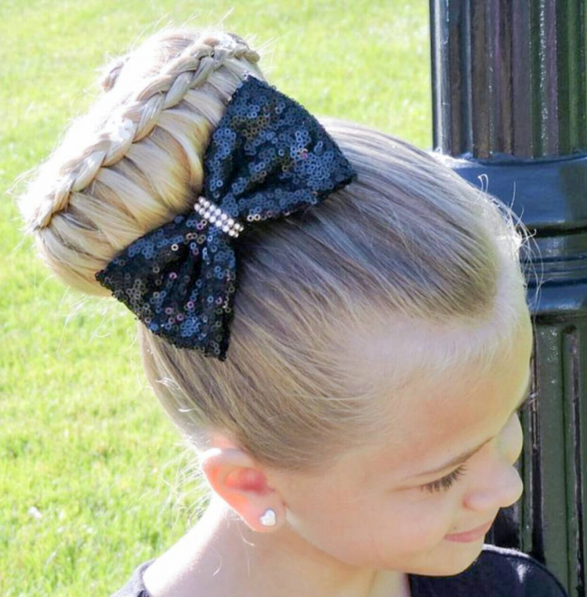 Whimsical Braided Bun