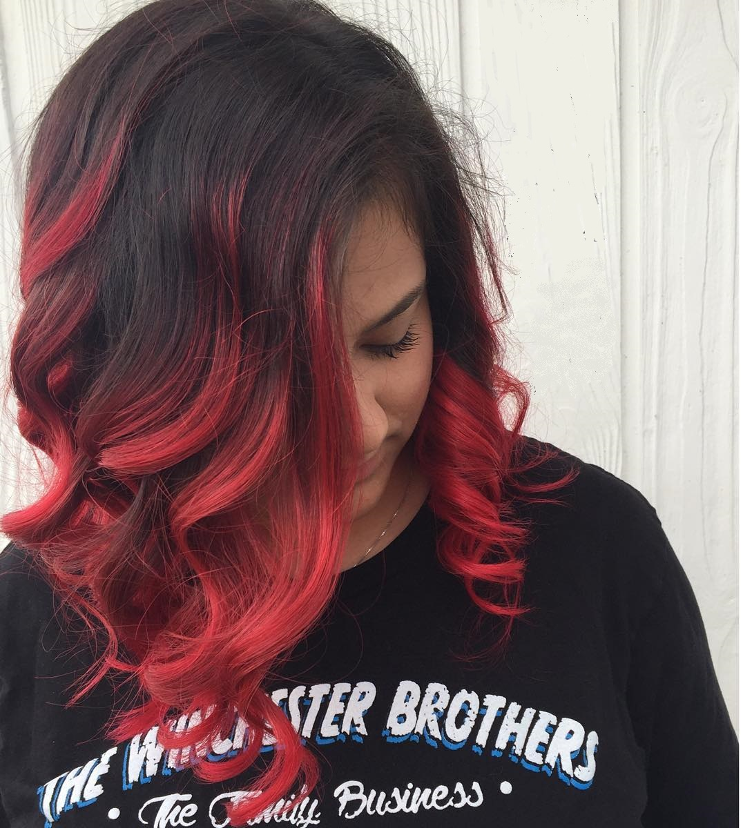 30 Incredible Ideas for Red Ombre Hair - Best in (2019)