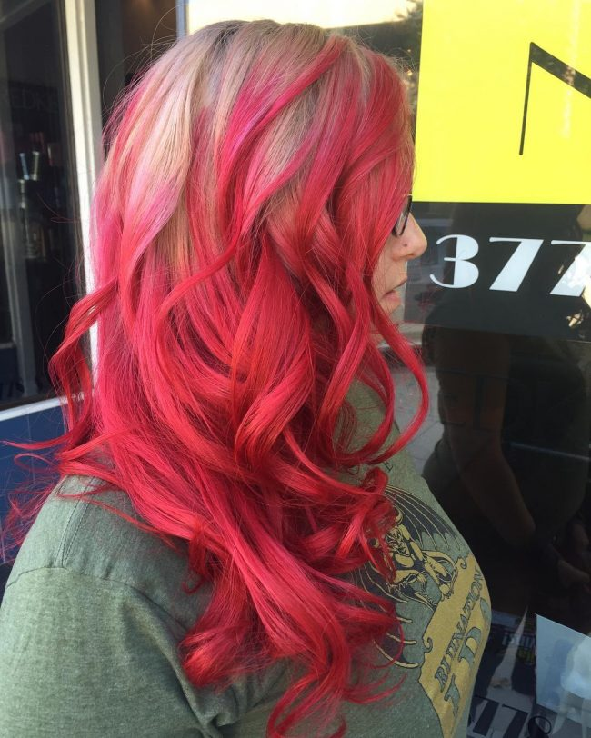 30 Incredible Ideas For Red Ombre Hair Best In 2019