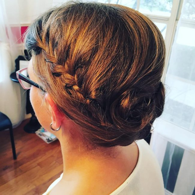Adorable Braided Upstyle