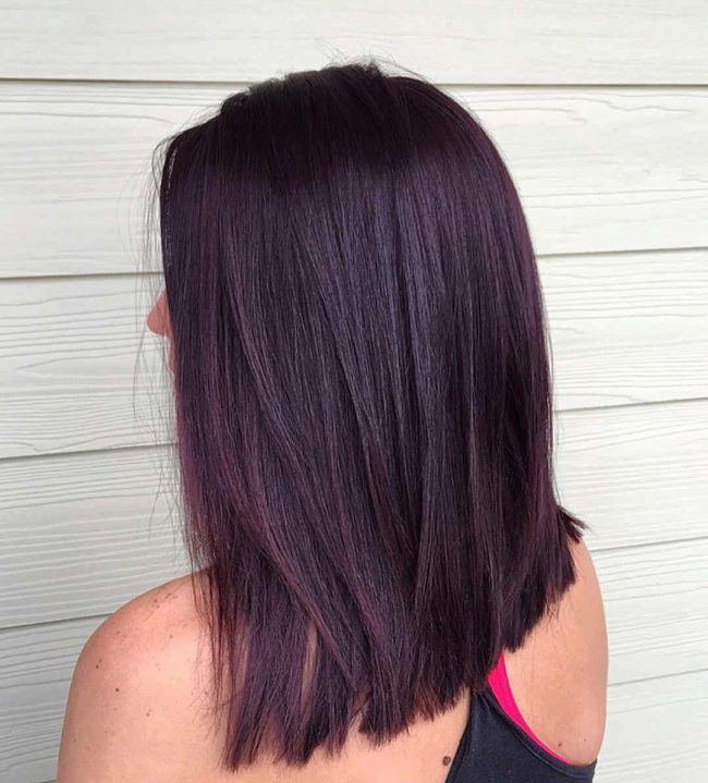 Balayaged Black Cherry