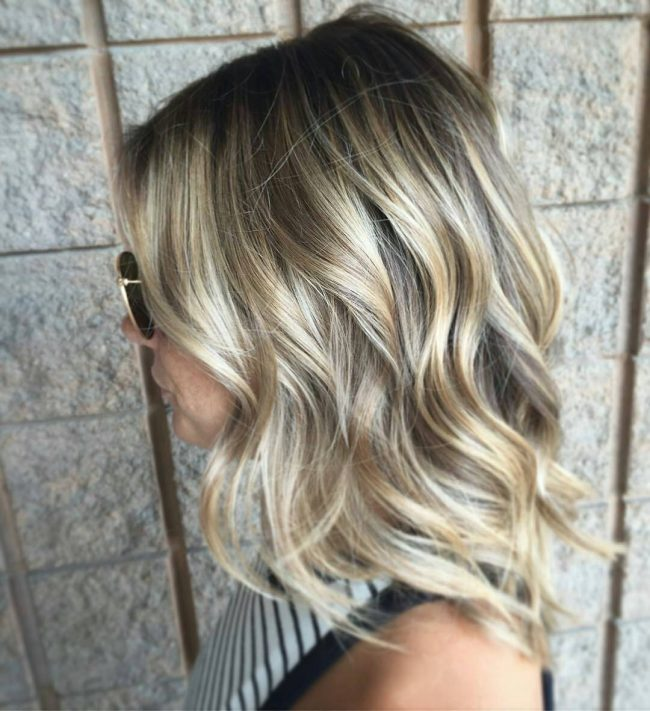 Beach Waves with Lived-In Tones