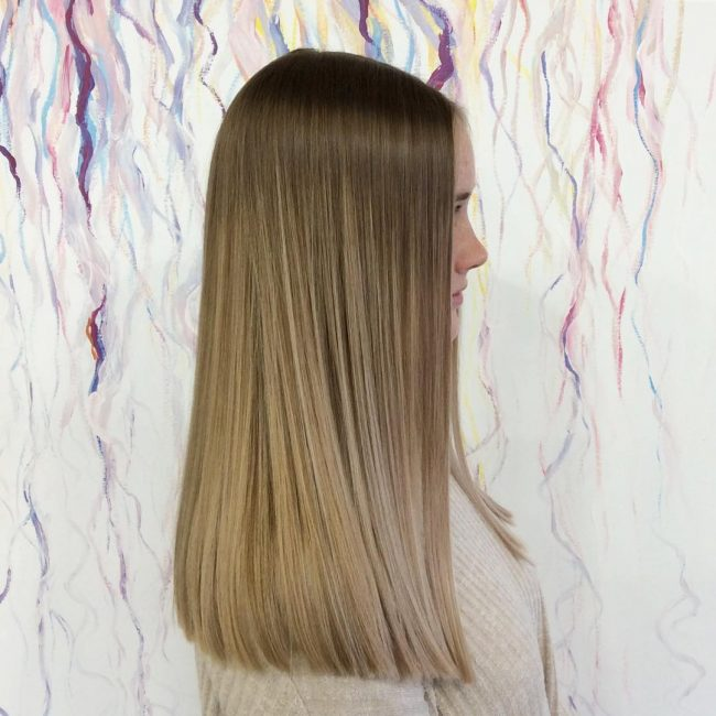 Blended Sandy Blonde Hair