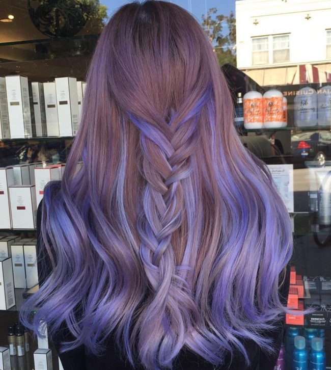 Blue and Violet Highlights