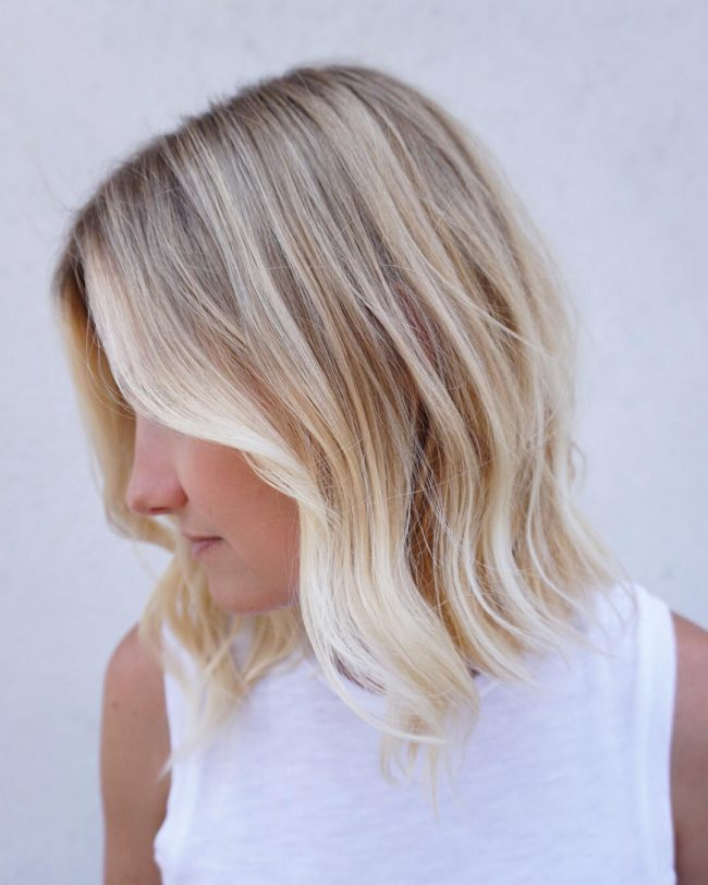 Bold and Bright Blonde