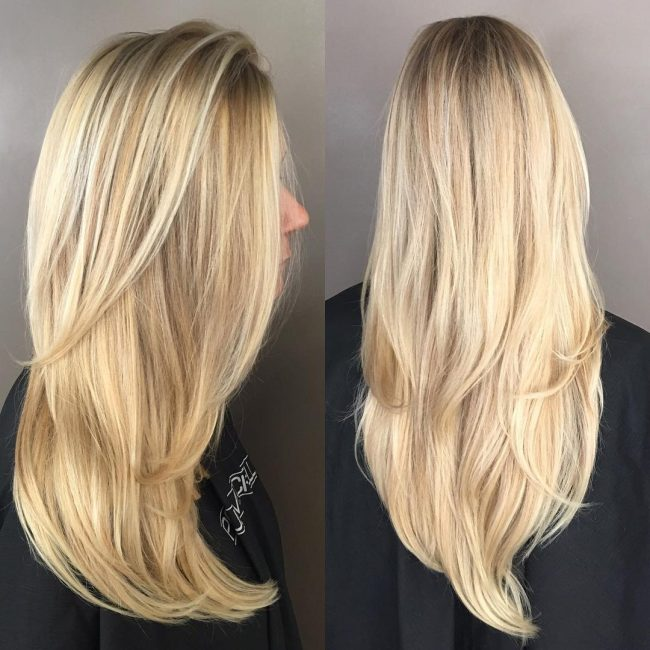 Brushed-On and Bright Blonde