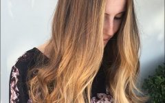 Caramel to Light Brown Ombre