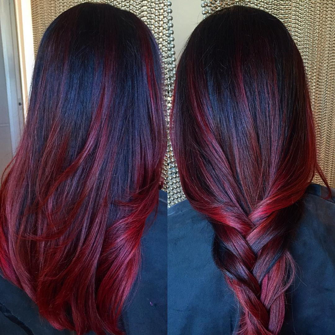 50 Stunning Dark Red Hair Color Ideas Bright Yet Elegant