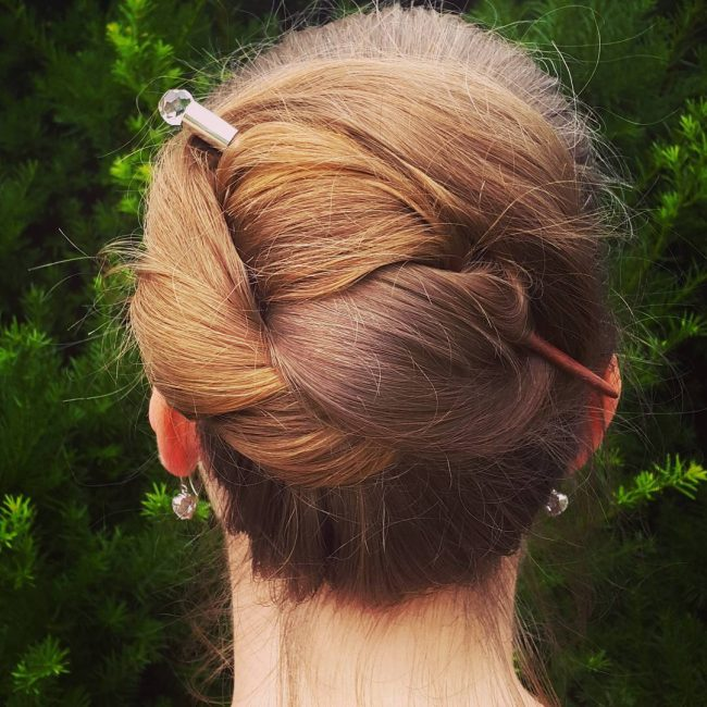 Chic and Tight Bun