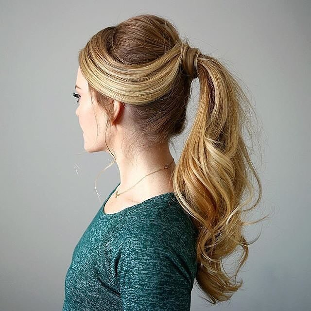 25 Cool High Ponytail Hairstyles More Ideas To Try