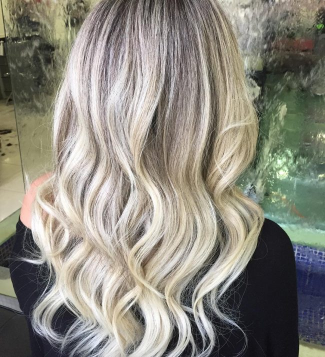 Color Melted Loose Waves