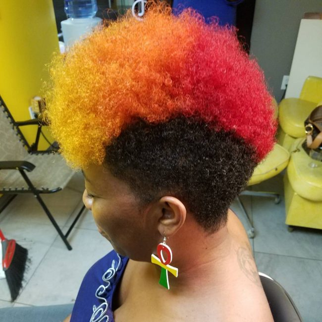 Colorful Mohawk