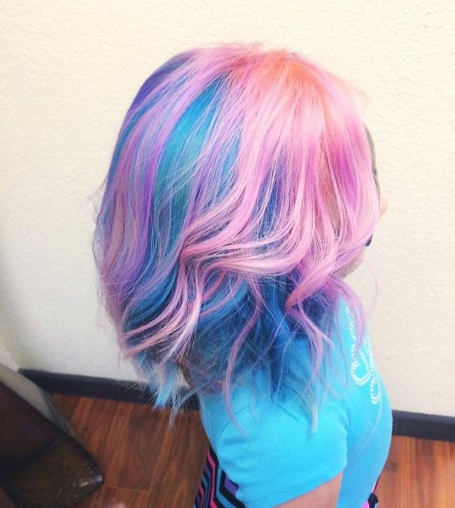 Colorful Unicorn Hair