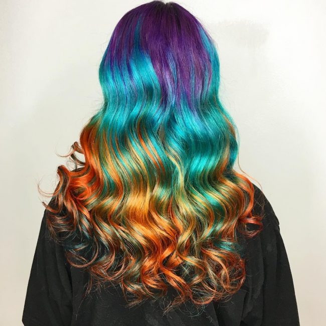 Colormelt Rainbow Locks