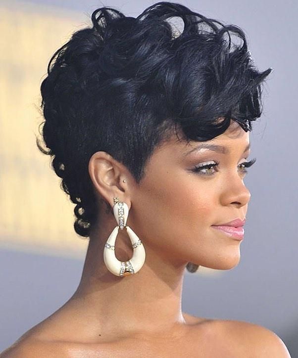 Fantastic 35 Great Curly Mohawk Hairstyles Cuteness And Boldness Short Hairstyles For Black Women Fulllsitofus