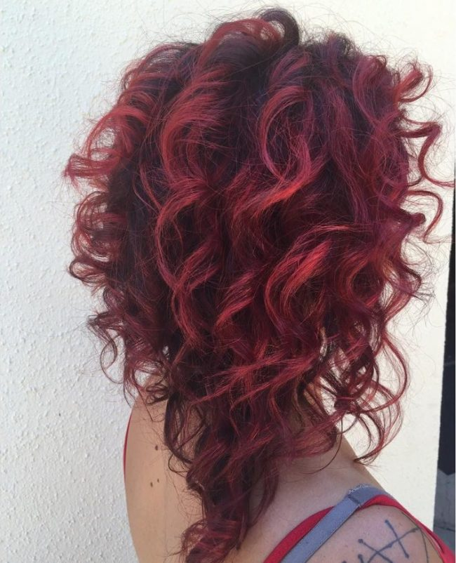 Curly Red Locks