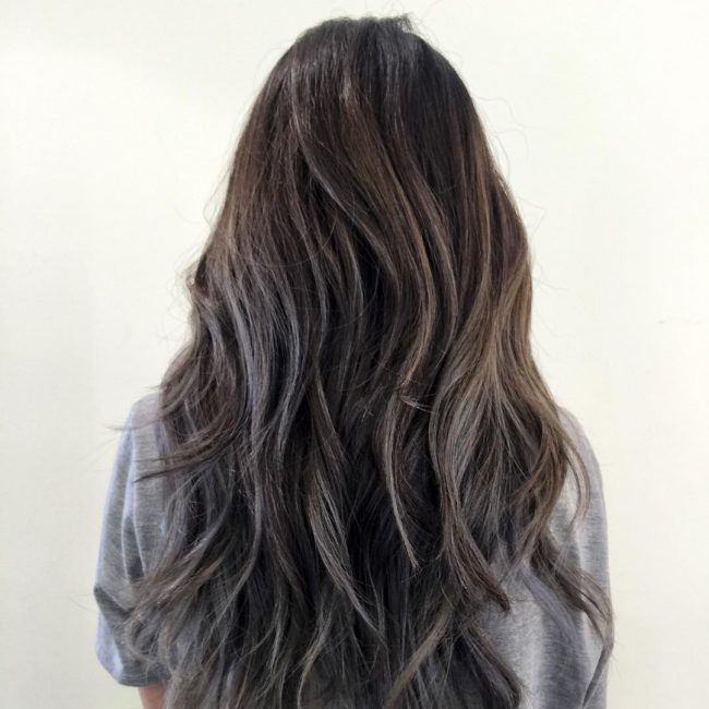 Dark Toned Balayage