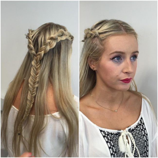 Double-Braided Fishtail