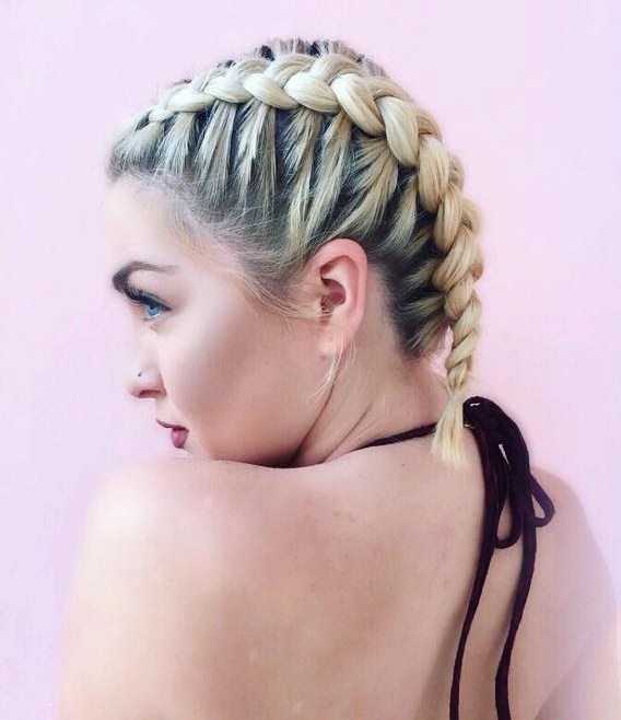 Easy Dutch Pigtails
