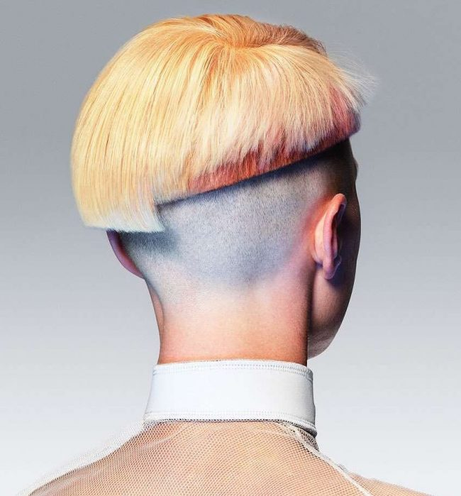 Edgy Bowl Haircut