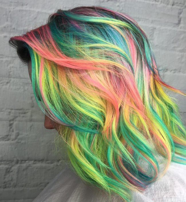 Electric Neon Hair