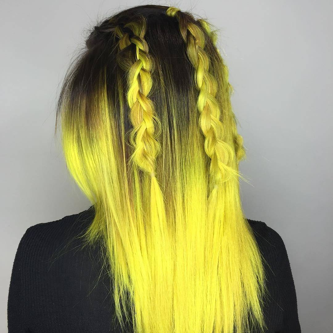 25 Stunning Yellow Hair Color Ideas  Bright As The Sun