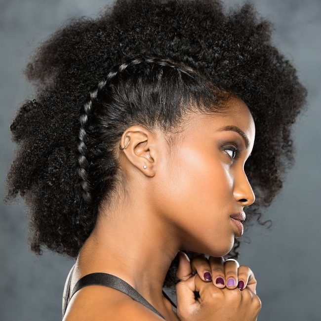 Exquisite Tight Curls Mohawk