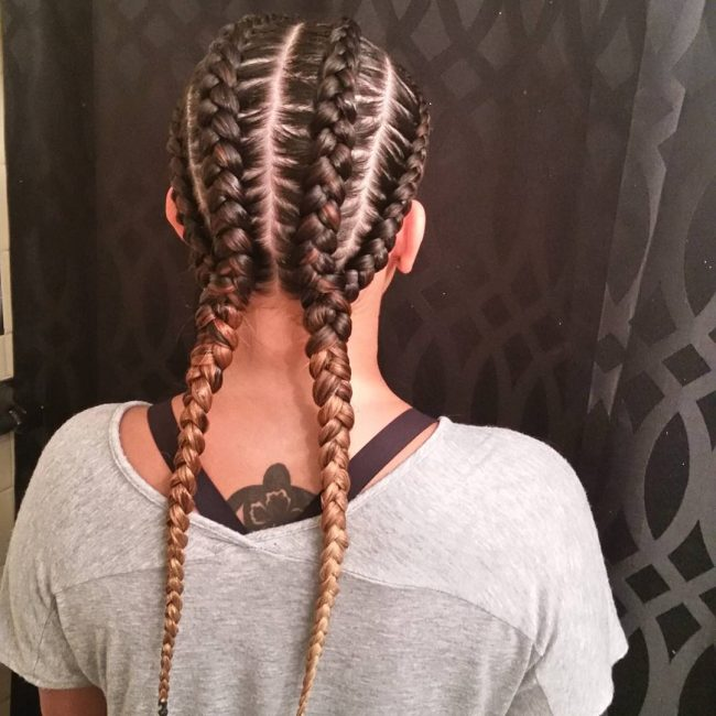 Fancy and Impeccable Cornrows
