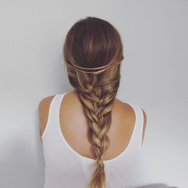 Fishtail with Headband