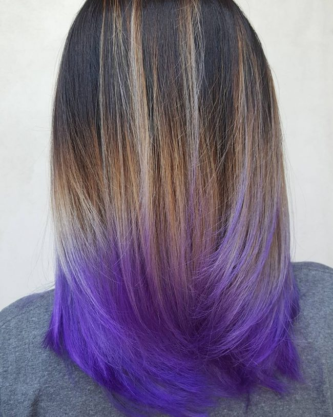 Glowing Balayage Ombre