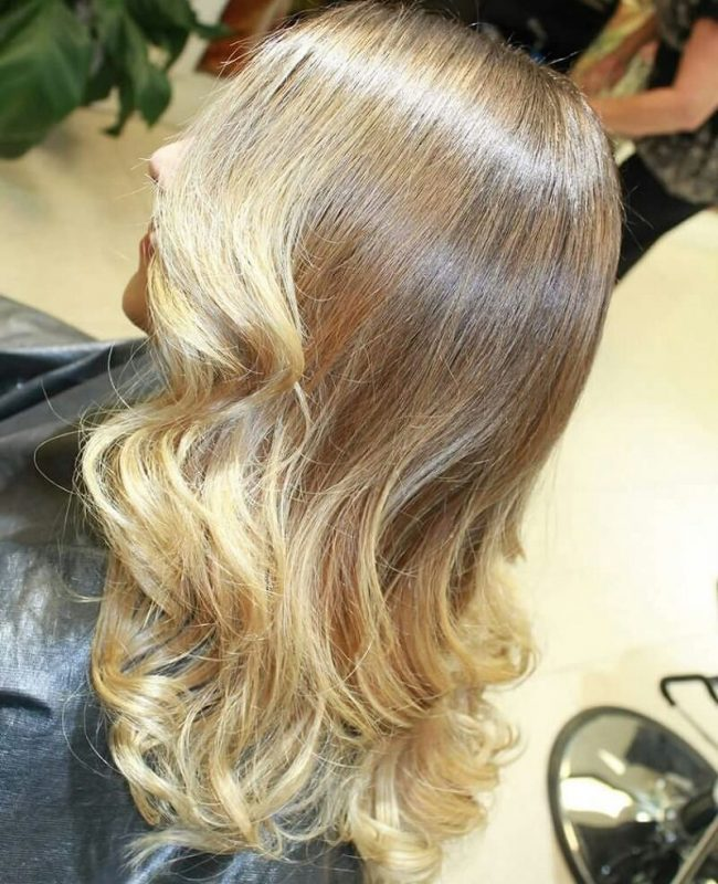 Gorgeous Blonde Sombre Hair