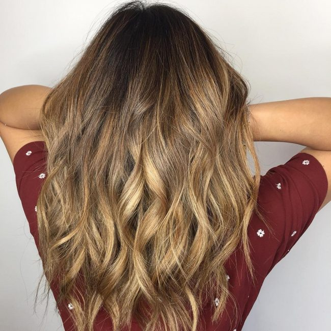 Gorgeous Bronde Coloring