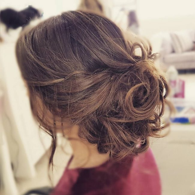 Gorgeous Casual Bridesmaid Hairstyle