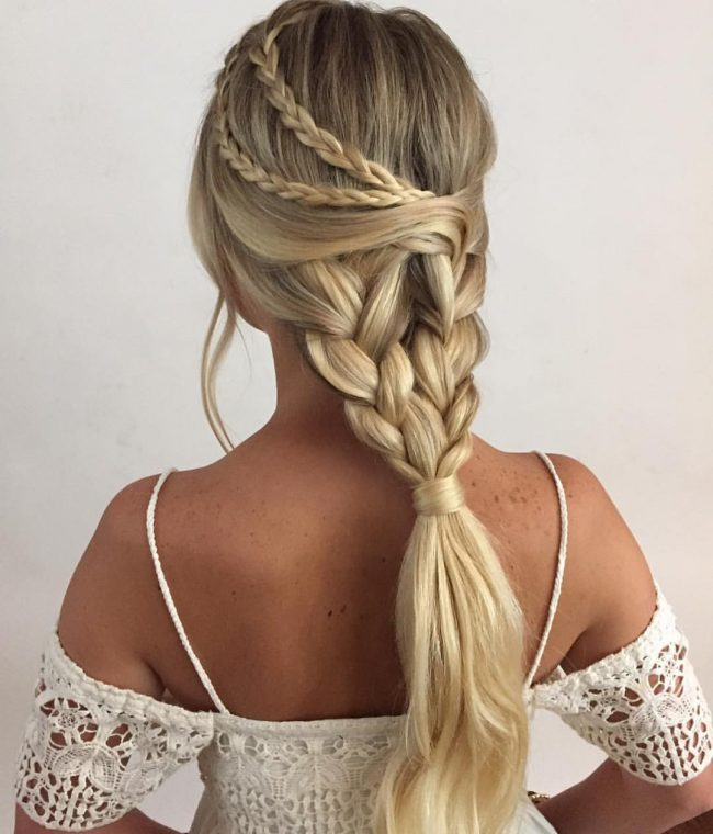 Gorgeous Plaited Ponytail