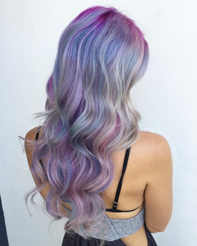 Hot and Beautiful Mermaid Hair