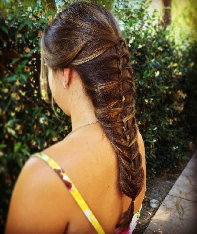 Innovative Waterfall French Braid
