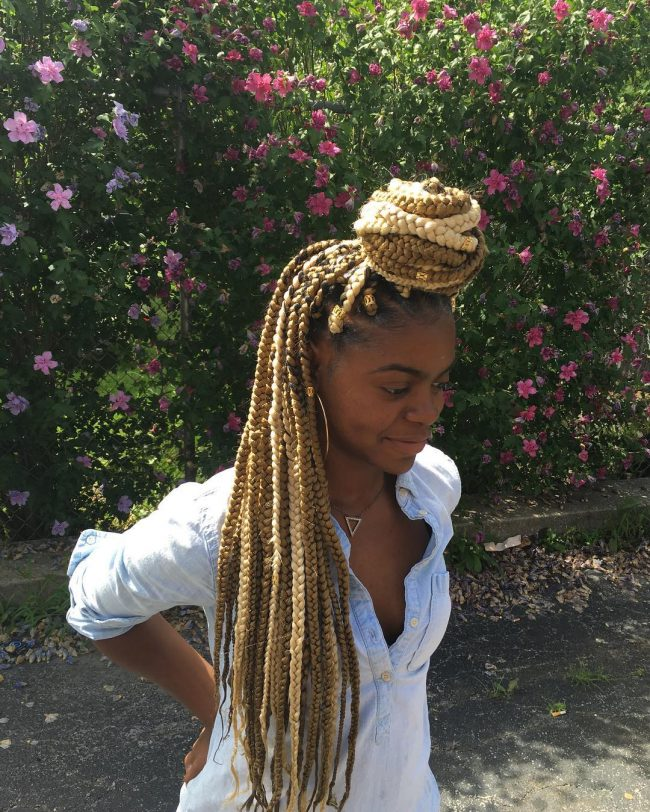 Jumbo Box Braid Knot