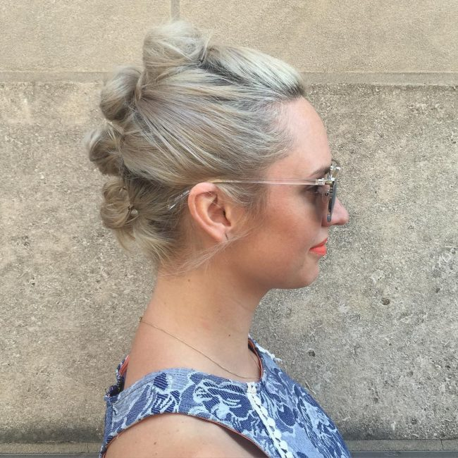 Knotted Faux Hawk