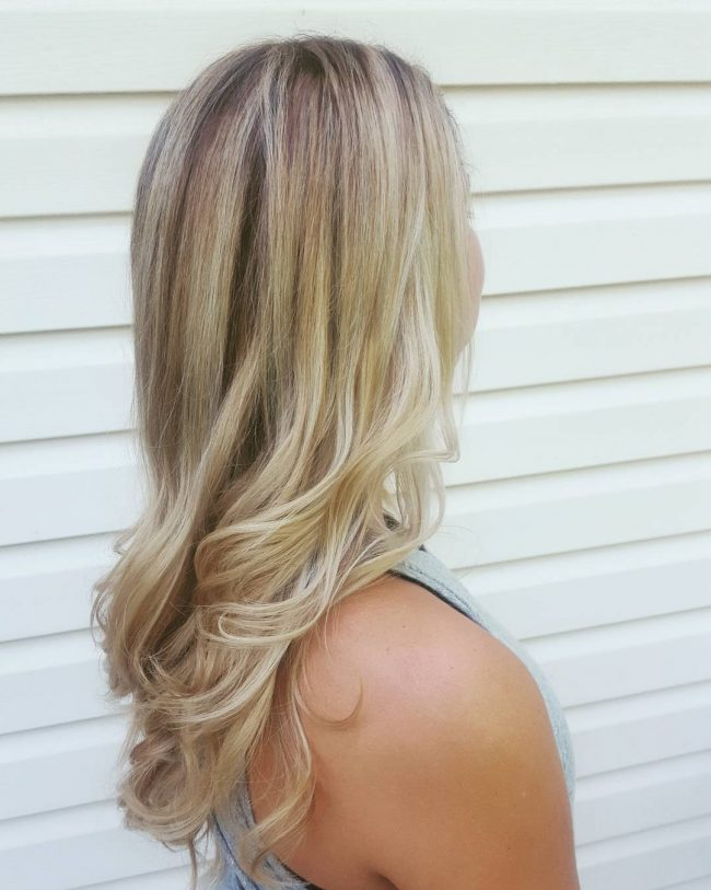Light Blonde with a Hint of Brown