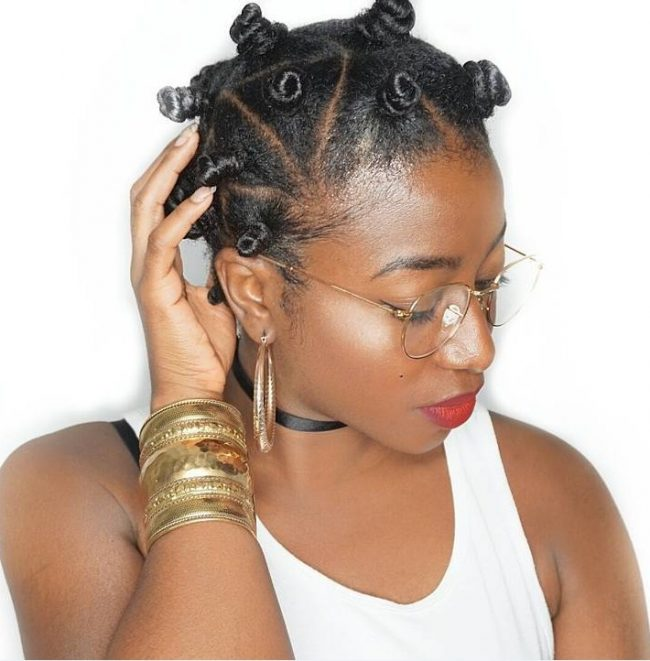 Magical Bantu Knots