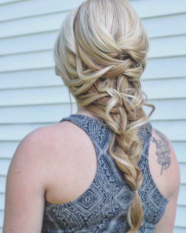 Messy Boho Braid