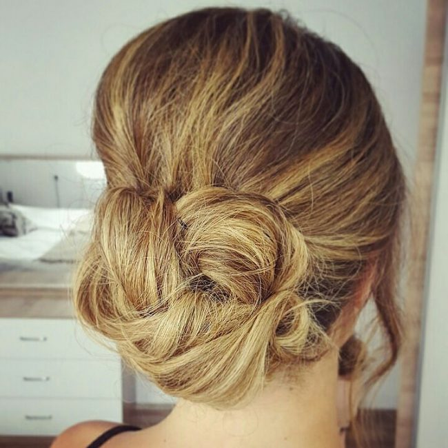 Messy Low Bun