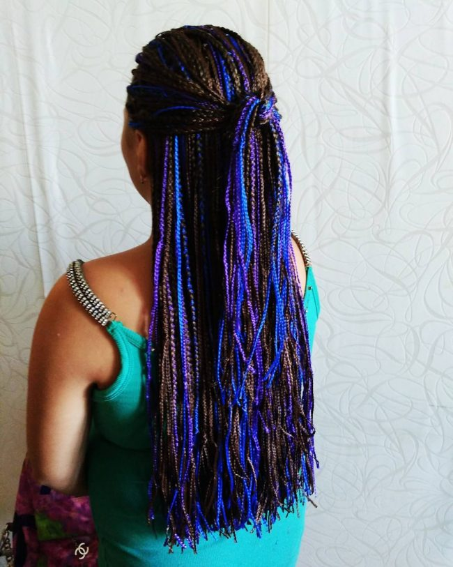 Micro Yarn Braiding