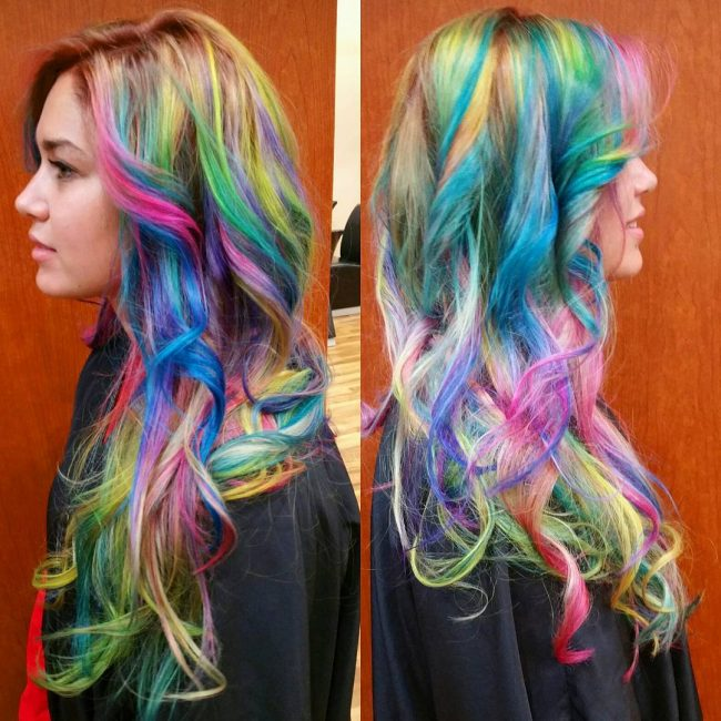 Multi-Color Balayage