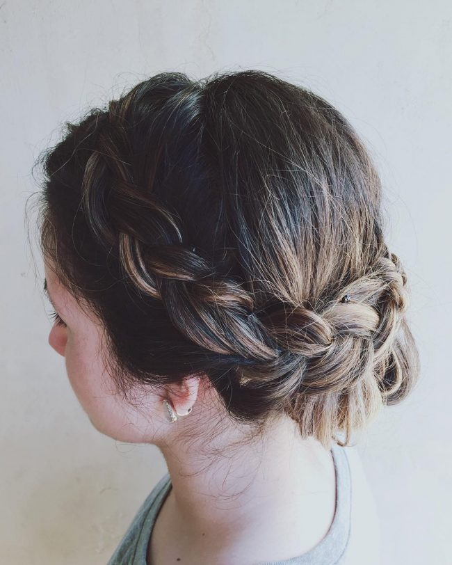 Perfectly Imperfect Braided Upstyle