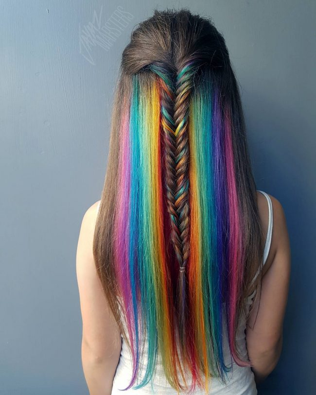 Prismatic Mermaid Braid